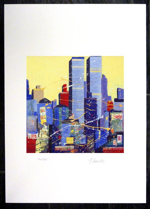 Franz RAUSCHER New York Twin Towers I - GicléeDruck
