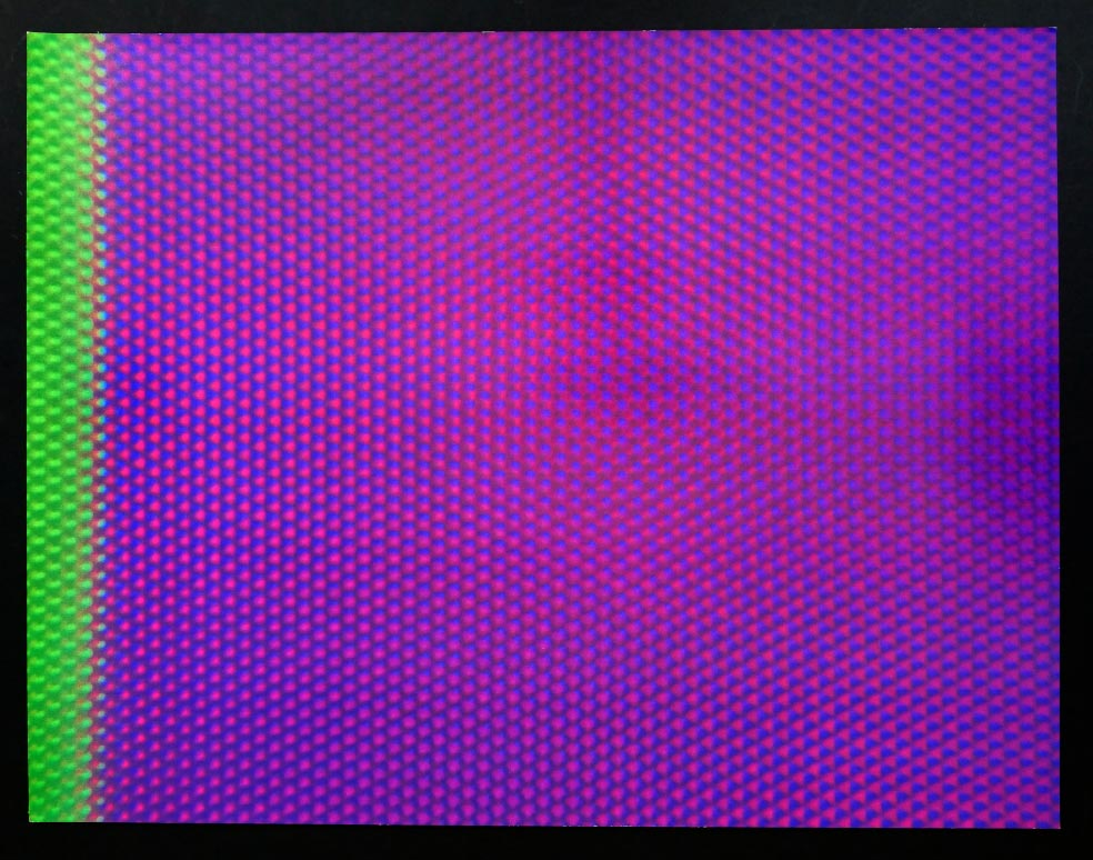 Tobias REHBERGER Video stills from the missing colours 3 - Siebdruck in Farbe